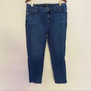 Torrid Size 16 Plus Size Blue Skinny Jeans Blue
